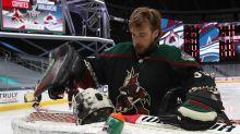 Sharks reportedly showing interest in goaltender Darcy Kuemper