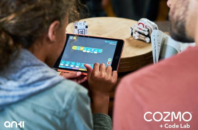 Anki's cute Cozmo robot can teach kids how to code