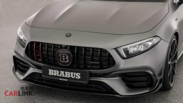 車名「一個字=10ps」!Mercedes AMG W177 A45 S微改版「Brabus 450 Edition」