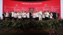 Singapore gets two 3 Michelin-starred restaurants, with 44 names on the guide this year