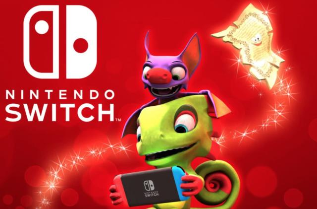 'Yooka-Laylee' arrives on Nintendo Switch December 14th
