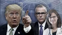 What's behind Trump's charges about Andrew McCabe's wife?