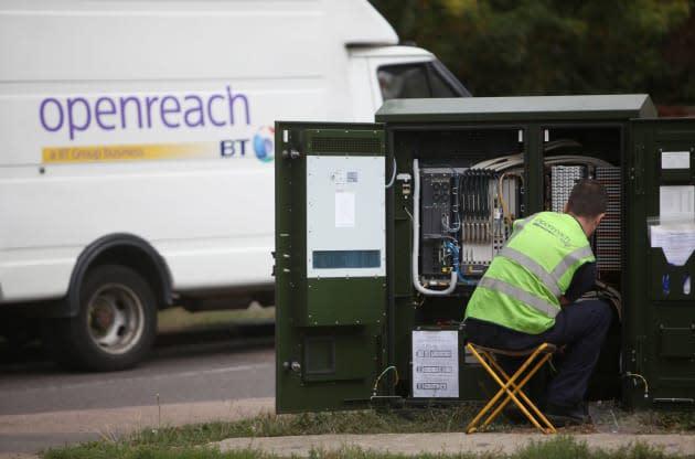 BT under pressure to sort out super-slow broadband installations