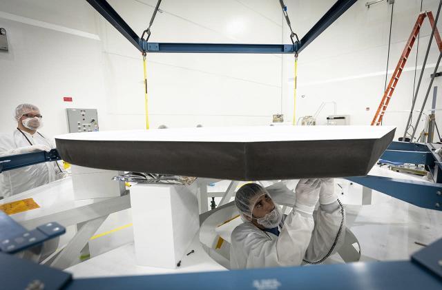 NASA's sun-bound probe just got a super heat-resistant shield