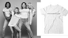 Spice Girls 'shocked and appalled' by charity T-shirt reveal