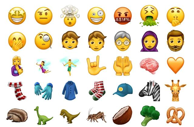 48 new emojis are coming to your phone this summer