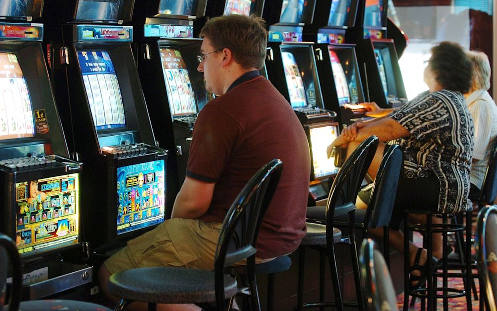 Gaming machines are big money in betting shops