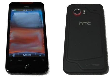 HTC Incredible out in the wild once more, Verizon color scheme alive and well