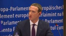Mark Zuckerberg apologises amid EU grilling