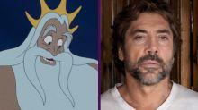 Javier Bardem negocia interpretar al rey Tritón en el remake de La sirenita