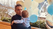 Ayda Field and Robbie Williams celebrate 'miracle' son Beau on his 1st birthday