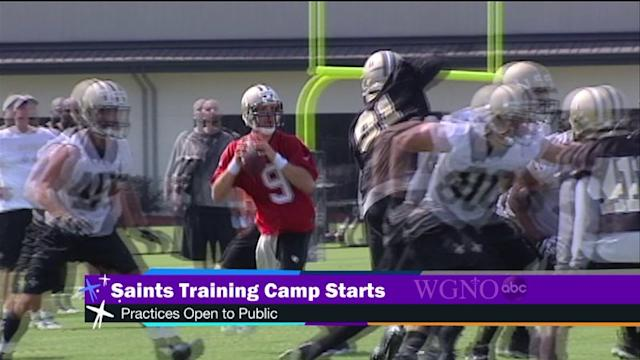Saints start training camp today