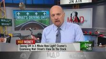 Cramer explains why General Motors' stock is back in styl...