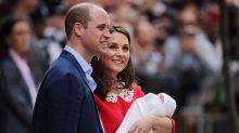 Kleiner Prinz Louis: William und Kate veröffentlichen erste Bilder