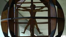 L'uomo di Vitruvio di Leonardo torna al Terminal 3 di Fiumicino