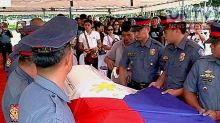 SPO1 Junior Hilario of Caloocan police, laid to rest at the Libingan ng mga Bayani