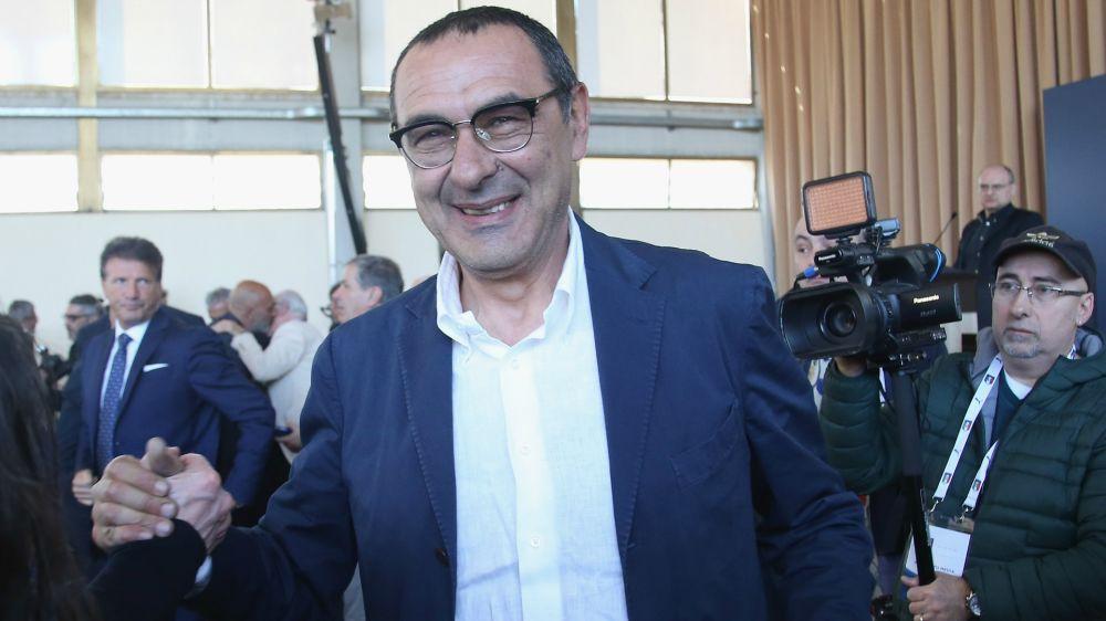 """Sarri e il calciomercato del Napoli: """"Ounas? Non lo conosco"""""""