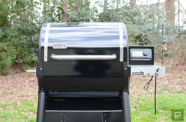 Weber's SmokeFire smart grills just got a lot better
