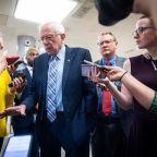 Bernie Sanders says he's 'tired of talking' about Senate colleagues Joe Manchin and Kyrsten Sinema
