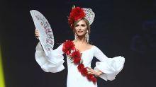 """Miss España trans rindió tributo a la mujer ibérica en Miss Universo: """"La madre patria soy yo"""""""
