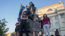 Polish police detain 48 people after LGBT protest