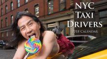 Los taxistas de Nueva York sacan su lado sexy por una buena causa