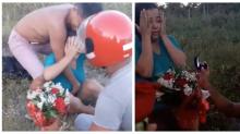 Noivo se finge de morto para pedir namorada em casamento: 'Queria passar uma lição'