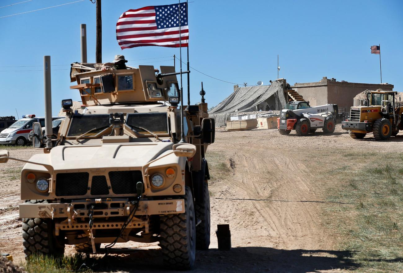 U.S. troops injured after collision with Russian vehicle in Syria