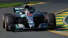 Back with a bang: Hamilton dominates Melbourne practice