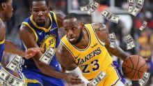 Los sorprendentes números de la NBA: cómo es el millonario negocio del básquet estadounidense