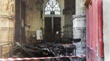 Incendie dans la cathédrale de Nantes : où en est l'enquête?