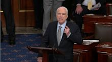 McCain: 'I will not vote for this bill as it is today'