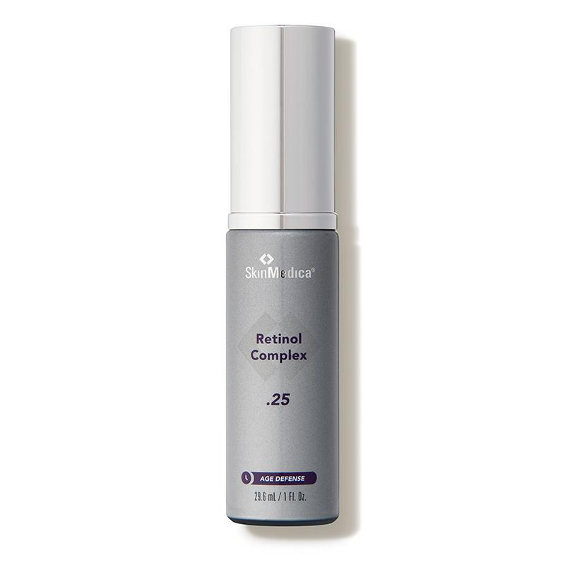 """<p><strong>SkinMedica</strong></p><p>dermstore.com</p><p><strong>$62.00</strong></p><p><a href=""""https://go.redirectingat.com?id=74968X1596630&url=https%3A%2F%2Fwww.dermstore.com%2Fproduct_Age%2BDefense%2BRetinol%2BComplex%2B25_55450.htm&sref=http%3A%2F%2Fwww.oprahmag.com%2Fbeauty%2Fg28661550%2Fbest-retinol-serums%2F"""" rel=""""nofollow noopener"""" target=""""_blank"""" data-ylk=""""slk:SHOP NOW"""" class=""""link rapid-noclick-resp"""">SHOP NOW</a></p><p>If you're committed to using retinol serum for the foreseeable future, <a href=""""http://www.dermatologyofboca.com"""" rel=""""nofollow noopener"""" target=""""_blank"""" data-ylk=""""slk:Jeffrey Fromowitz"""" class=""""link rapid-noclick-resp"""">Jeffrey Fromowitz</a>, a board-certified dermatologist in Florida, recommends SkinMedica's line. It's suitable for all skin types and is available in three strengths of retinol, so you can progress to stronger concentrations as your skin adjusts to the product, he says. </p>"""