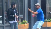 Leonardo DiCaprio Pranks Jonah Hill On The Street