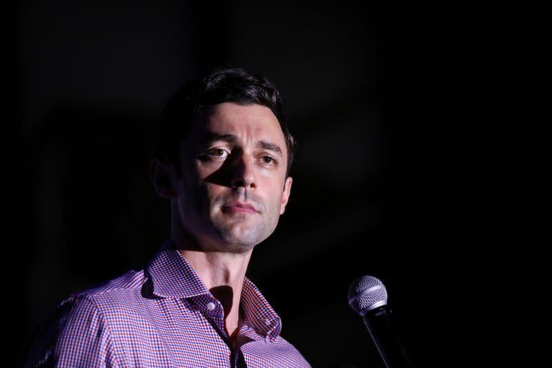 Georgia Democrats Ossoff, Warnock challenge Republicans to debate in Senate runoff