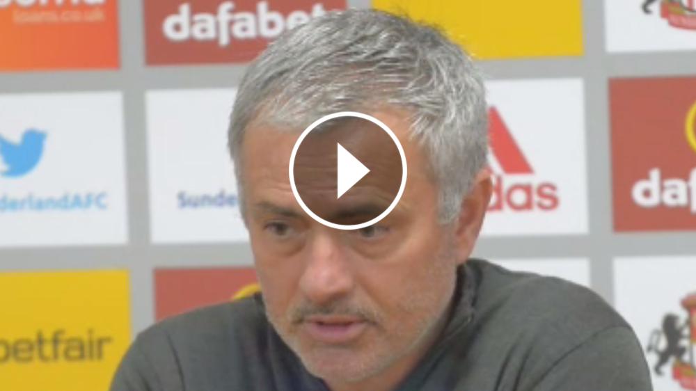 """VÍDEO: Mourinho: """"La Europa League es la única opción de título que nos queda"""""""