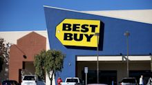 Best Buy shares drop nearly 8% as CEO unveils new financial goals