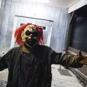 CREEPY! A clown is apparently trying to lure children into the woods in South Carolina