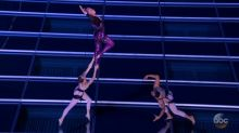 Pink's high-flying act headlines night of powerful female performances at the AMAs