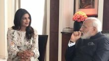 Priyanka Chopra shamed for 'showing legs' to India's prime minister