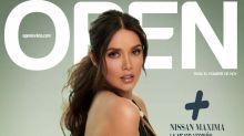 Marlene Favela posa muy sensual para la revista Open
