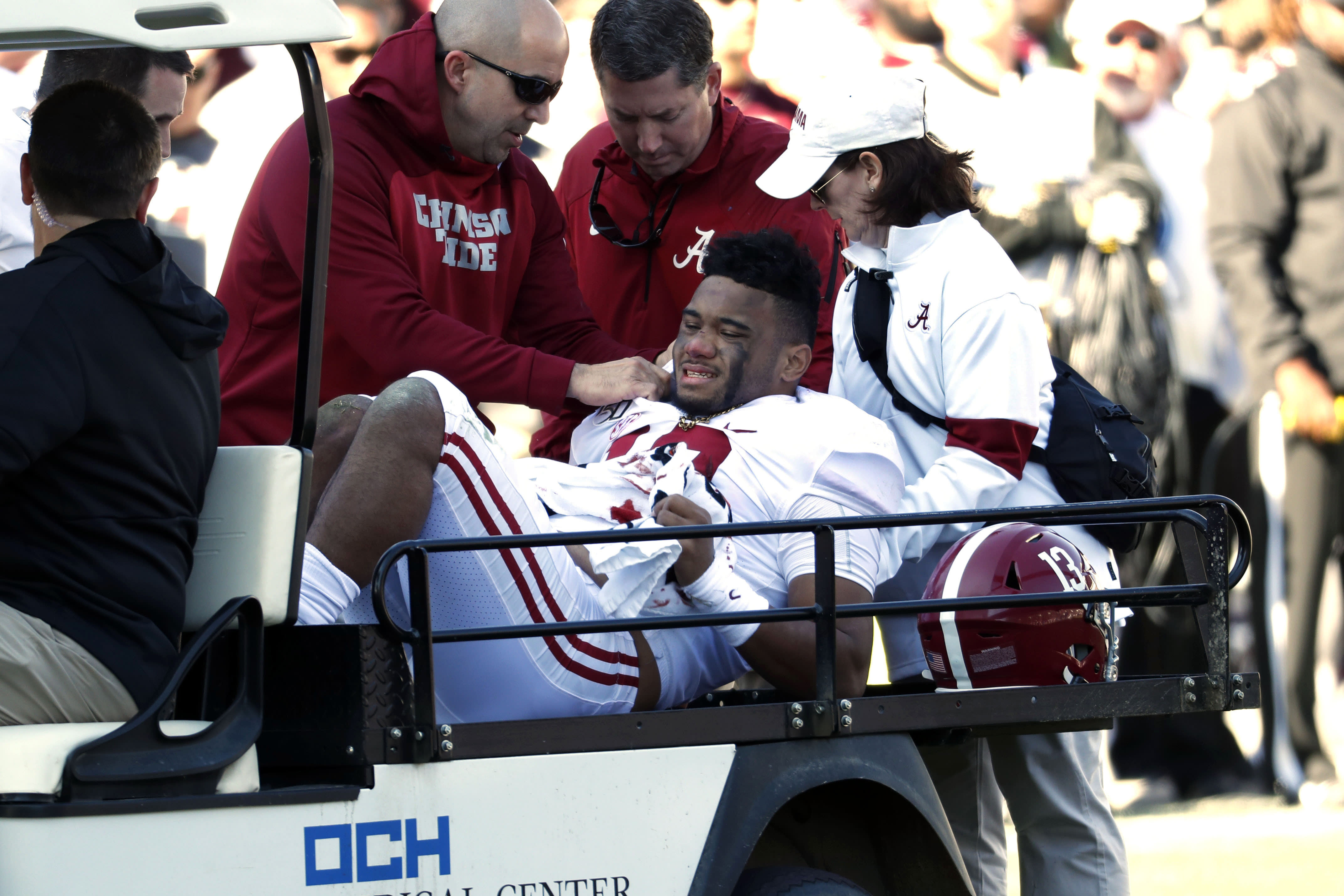 Tua Tagovailoa injury could be devastating for his NFL Draft stock