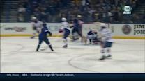 Schwartz whips a one-timer past Scrivens