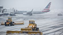 Airlines offer free date changes as spring snowstorm threatens travel