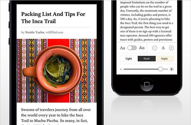 Pocket for iOS 7 offers automatic syncing, hyphens
