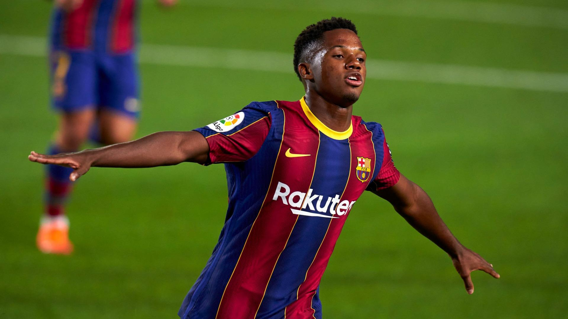 He Lacks A Bit Of Concentration Barca Boss Koeman Tempers Excitement Around Teenage Star Fati