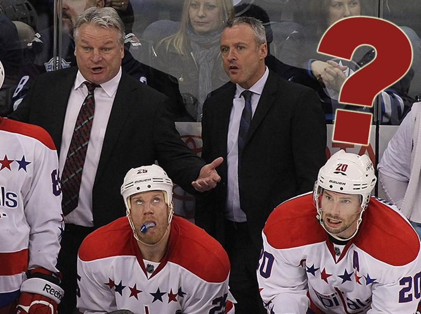 best service 551b2 51e59 What if … the Capitals didn't hire Dale Hunter and Adam ...