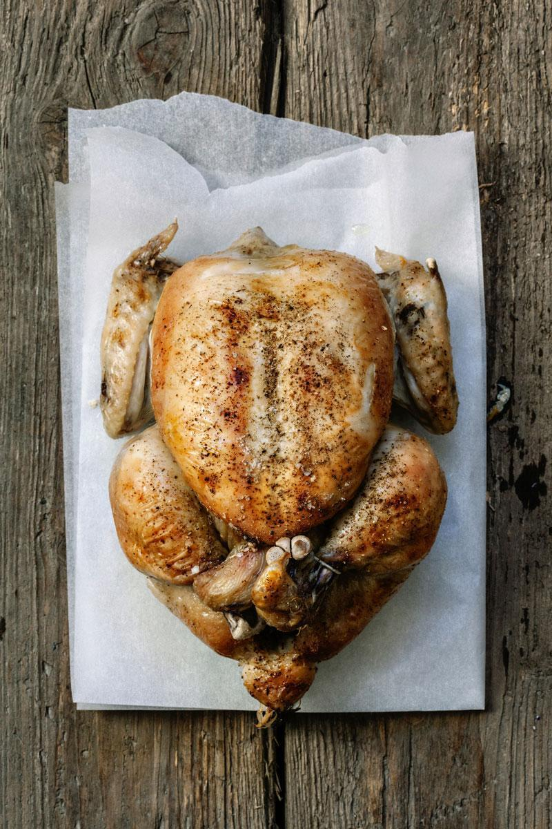 Why You Should Roast Your Chicken Upside Down