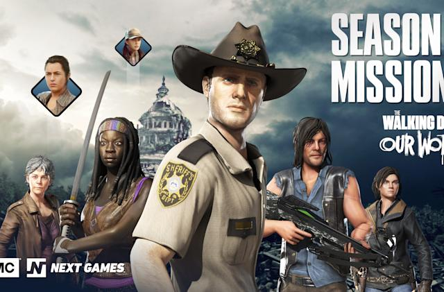 'The Walking Dead' mobile game will keep pace with the TV show