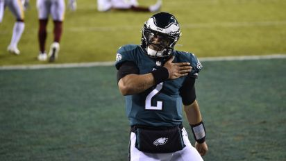 Eagles owner gives Hurts QB1 vote of confidence